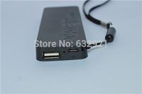 1pcs 5600mAh USB External Backup Battery Lithium Polymer Charger Power Bank Super slim Mobile Powe