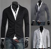 2014 New Men blazer slim fit blazer coat jackets Leisure Suit Turn down Collar suits for men CMR159