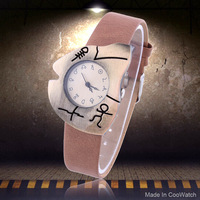New Fish Bones Vintage Watches Irregular Quartz Watch Hot Selling Wristwatches Discount