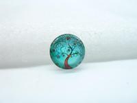 10pcs 12mm Handmade Photo Glass Cabochons (tree) GB59-21