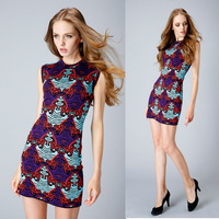 Fall 2014 Top Quality Charming Colorful Stretch Knitted Dress 140708LJ02