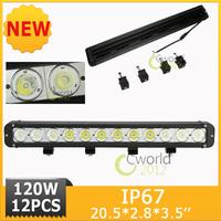 120W CREE LED Combo Work light Bar Lighting Bar Driving Lamp