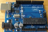 Free shipping 1PCS UNO R3 UNO board without usb cable MEGA328P ATMEGA16U2 for Arduino(Compatible) No LOGO No USB cable
