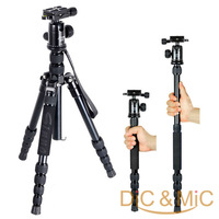 DHL Free Shipping Compact Portable Tripod Monopod Professional SLR Digital Camera Tripod Kit / Photo Equipment for travelling