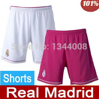 Real madrid Shorts 2015 Real madrid soccer Shorts Top Thai Quality Real madrid Football Shorts(China (Mainland))