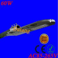 free shipping sale AC85-265V IP653year warranty 60W led street light 130-140LM/W LED led street light