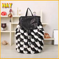 Preppy Styles Women Girls Leather School Travel Backpack Shoulders Children Bag High Quality