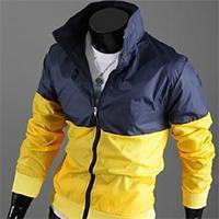 2014 New Arrival Autumn Letter Printing Jackets For Men/Casual Windbreak Men Jackets/Designer Cotton Men Clothes