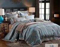 6PCS 2014 NEW ARRIVAL brand bedding set king size bedding jacquard bed cover duvet cover