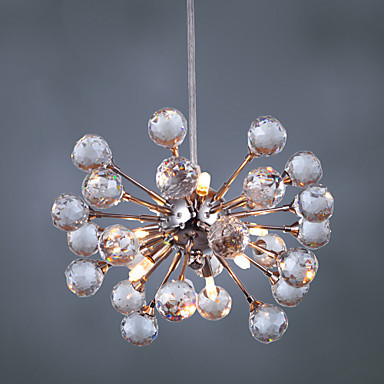Luminaire Lighting LED Modern Crystal Pendant lights Lamp with 6 Lights , Lustres e Pendentes ,Lustre De Cristal Free Shipping(China (Mainland))