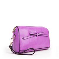 2014 new fashion leather messenger bag hand handbag leather pouches chain 21*13*9.5cm NB112 Y8PA