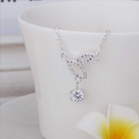 New Arrival!! Wholesale Cheap Dual Droplets Anklets 925 Silver plated Fashion Jewelry Personality Gift SMTA011
