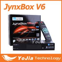 Original jynxbox ultra hd v6 with JB200 module build in wifi,YouTube,USB PVR,HDMI JynxBox V6 for North America Free Shipping