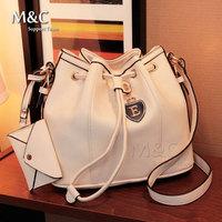 M&C Hot Selling 2014 High Quality Fashion Leather Handbag Women Messenger Bags Shoulder Bags Women Bags 5 Colors SD-135