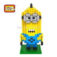 2014small particles Adult bricks 9160 Despicable Me 2 Thief Daddy servant diamond thin bricks