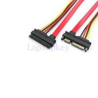 22 Pin SATA Female to Micro SATA 16 Pin Male Cable