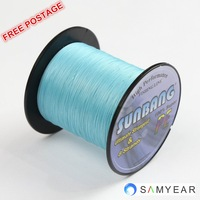 Free Shipping 8 strands 40LB 100M Long Line Fishing PE Braide Steel Fishing Line -- SUNBANG