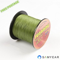 Free shipping 6 strands 60LB 100M Fishing Tackle Dyneema Braided Fishing Line -- SUNBANG