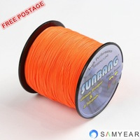 Free Shipping 8 strands 70LB 100M Japan Braided Fishing Line PE Braide Steel Fishing Line -- SUNBANG