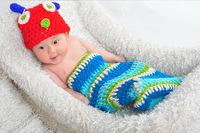 Free shipping newborn baby children boys girls child photography props Crochet Handmade wool modeling Insect 0-8M