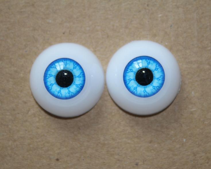 Как сделать акриловые глаза кукле