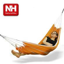 NatureHike-NH Single Hammock parachute cloth outdoor sports ultralight good quality leisure garden swing hanging chair(China (Mainland))