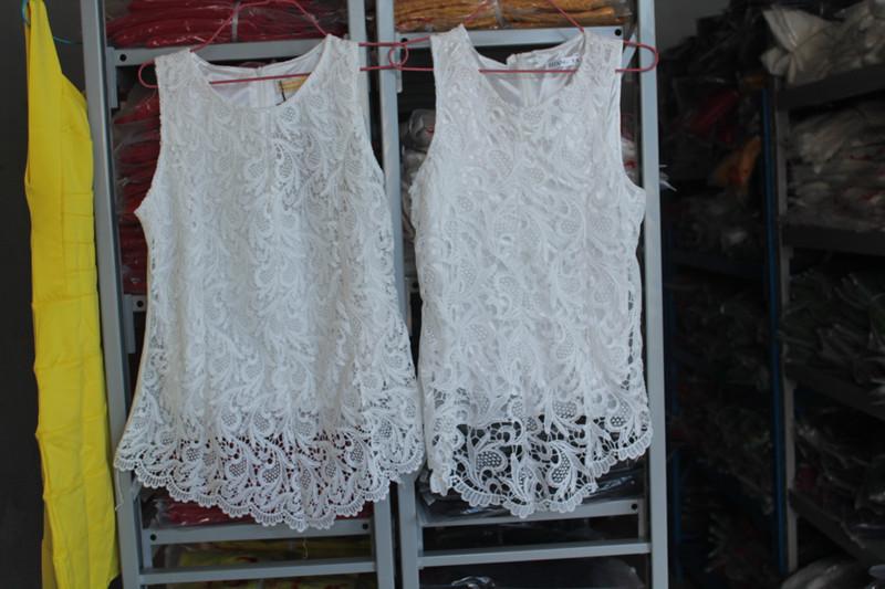 Plus Size Crochet Lace Tops