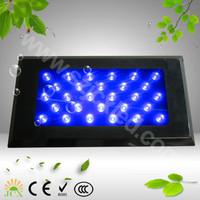 120W(55X3W) dimmer full spectrum LED aquarium light for coral reef fish tank aquarium light  wholesale freeshipping