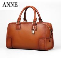 ANNE women's handbag 2014 Women Handbags Real Leather Handbag Casual Shoulder Bag Purses Leather Tote Bags Free Shipping
