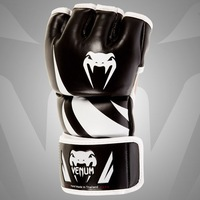"VENUM ""CHALLENGER"" MMA GLOVES - BLACK BOXING GLOVES"