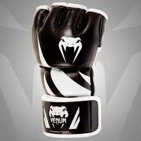 "VENUM ""CHALLENGER"" MMA GLOVES - BLACK BOXING GLOVES"