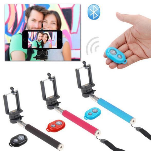Telecomando senza fili bluetooth controllo per smarthone 3 in 1