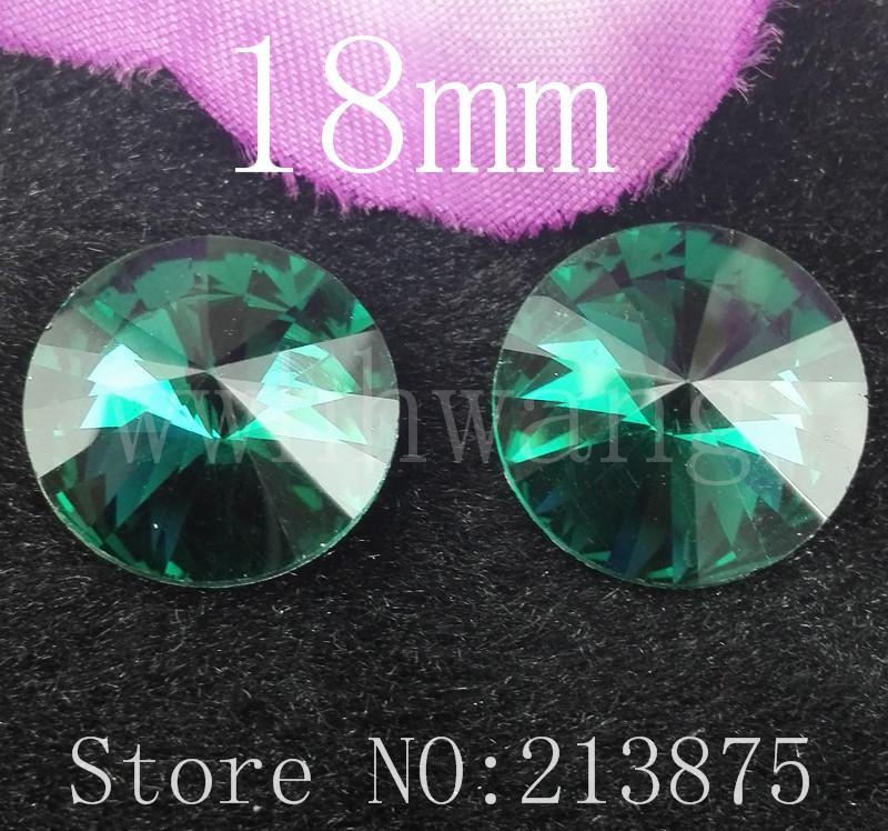 Forma Satélite verde 30pcs Frete grátis 18 milímetros Peacock prata Vidro Cor facetada de vidro redonda de strass inferior applique strass(China (Mainland))