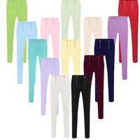Size S,M,L,XL,XXL,XXXL,XXXXL,XXXXXL Women Pant  Vestidos Casual Plus Size Elastic Zipper 10 color women trousers Pencil pants