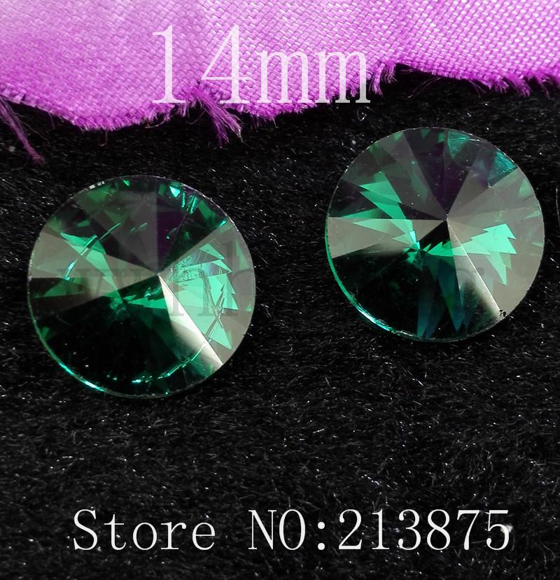 Forma Satélite verde 40pcs Frete grátis 14 milímetros Peacock prata Vidro Cor facetada de vidro redonda de strass inferior applique strass(China (Mainland))