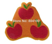 New My Little Pony Applejack Cutie Mark Girls Sweet Apple applique sew on/ iron on patch Fashion TV Wholesale Free Shipping