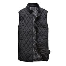 Billionaire italian couture cotton vest men's clothing 2014 clip tencel outerwear(China (Mainland))
