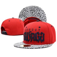 Brand New Street Swagg Snapback cap Red Leopard Hat Baseball Caps Fashion women men Adjustable Hip-hop Hats