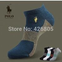 POLO male socks quality goods Summer men low stealth ship socks wholesale socks thin model