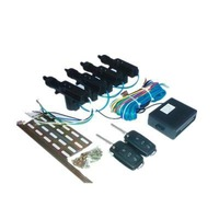 12V Car Remote Central Lock System for 4 doors universal usage Keless entry system Light prompt