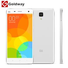 "Original Xiaomi Mi4 64GB Mi 4 Mobile Phone 5"" Qualcomm Snapdragon 801 Quad Core 1920X1080P JDI 3GB RAM 13MP IR GPS MIUI In Stock(Hong Kong)"