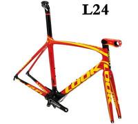 2014 LOOK 695 L24 road frame mtb bike  bicycle bike frame racing frame seatpost hubs saddle mtb carbon frame 26 light