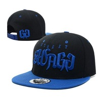 New Street Swagg Snapback cap Black Blue sports caps men's Baseball hat adjustable Hip-hop hats free shipping