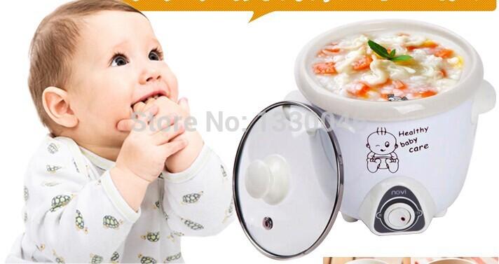 fogao infantil XENBEA The baby electric cooker porridge pot one-button operation Intelligent BB pot Health durable 0.7L 8680(China (Mainland))