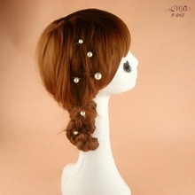 Cheap Women Pearl Hair Clips Set Ladies Fashion Party Hairwear Bridal Wedding Marriage Hair Accessories Only