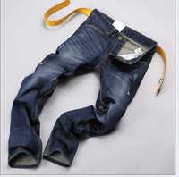 Free Shipping retail fashion 2014 high quality green cotton brand men's jeans Size 28-30