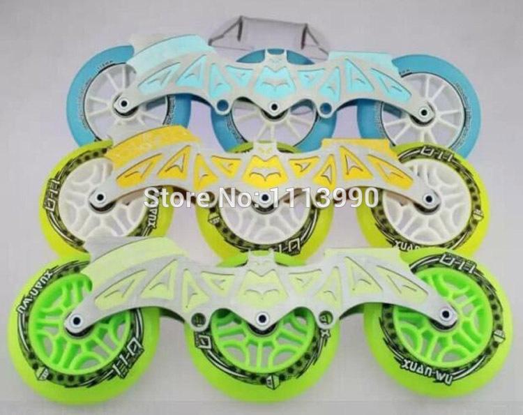 free shipping roller skates frame & speed skates frame 3x90, 3x100, 3x110 mm or 4 wheels(China (Mainland))