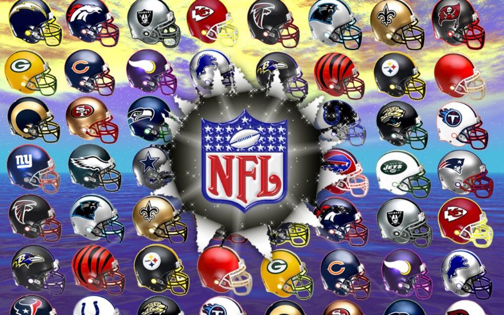 Nfl Logo Font Nfl Helmets Logos 2015