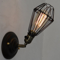 New Industrial Vintage Loft American Wall Lamps Aisle Vintage Iron Wall Light For Home Decoration Beside Lamp AC110-240V