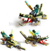 Bela Crocodile God Beast 10071 120Pcs/Set. CHIMA Qigong Legend Series! Children Educational Asembled Plastic Building Blocks Toy